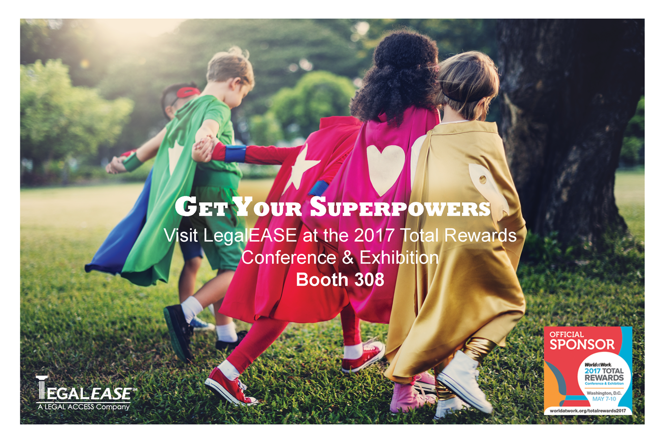 Get your superhero powers at booth 308!